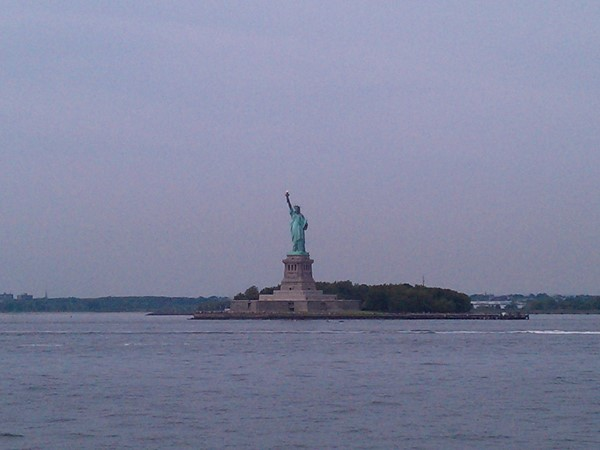 Lady Liberty is just one of many sights to be seen while riding the Staten Island Ferry