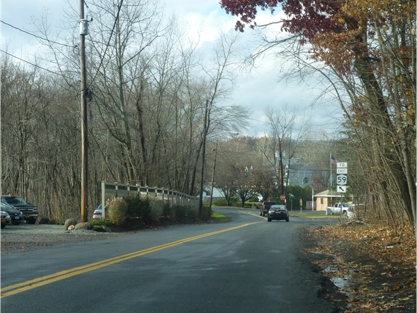 Entry to West Nyack from Rte 59