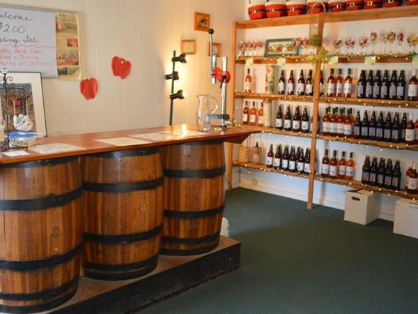 Everett Orchards in the Town of Plattsburgh has produced the North Country's first hard cider.