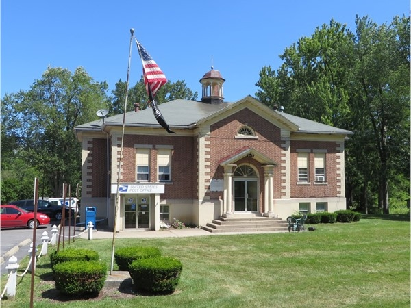 Post Office building in the hamlet of Rush
