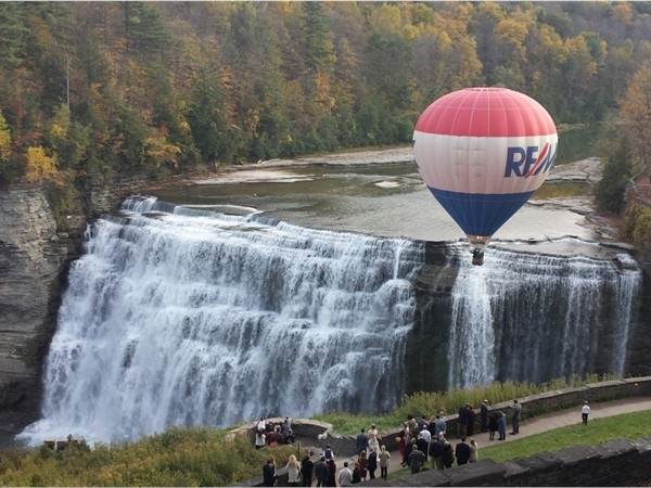 Gorgeous way to see Middle Falls at Letchworth State Park