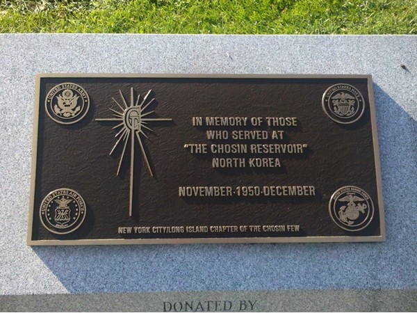 Chosin Reservoir Monument