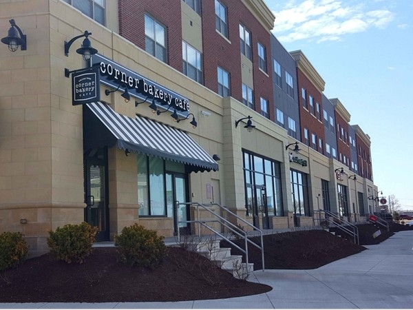 Corner Bakery Cafe is a casual chain bistro offering breakfast, lunch, dinner, and catering