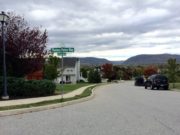 Patriot Ridge offers beautiful views of the countryside