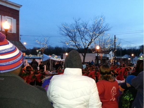 2014 Spencerport Christmas on the Canal dancing