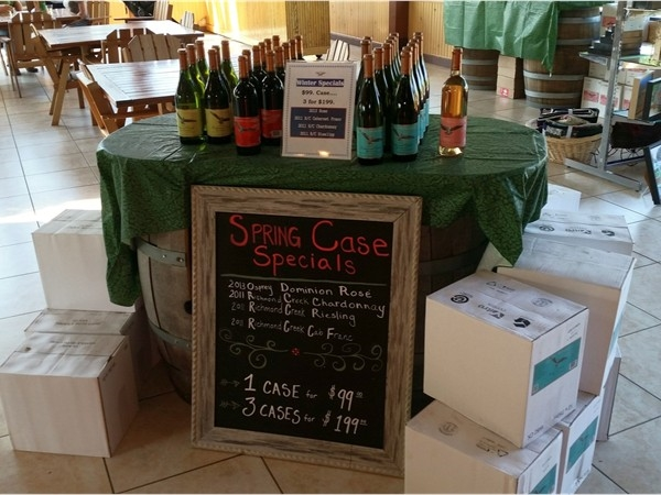 Great deals at Osprey's Dominion Vineyards