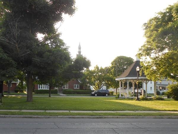 Port Schuyler -   Park and Gazebo