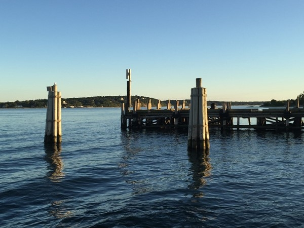 Pleasant view from the Shelter Island Ferry