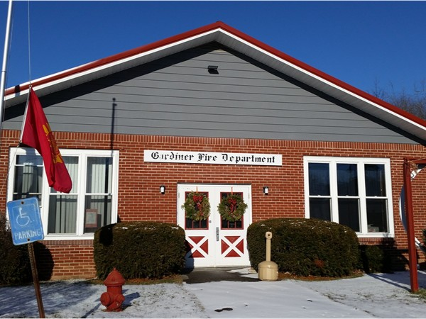 Gardiner Firehouse volunteers since 1912