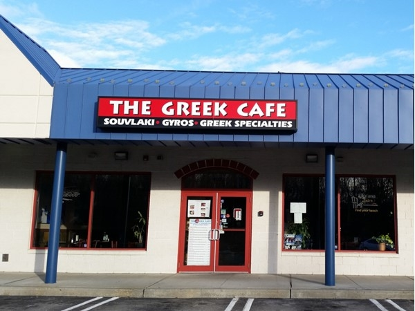 """My favorite Greek spot off of 211 when I am craving """"grape leaves"""". I just run in and order some"""