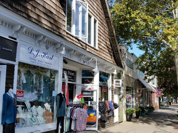 On the Main Street in Sag Harbor