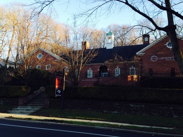 Cold Spring Harbor Lab. The discovery of the structure of DNA was founded here in 1953