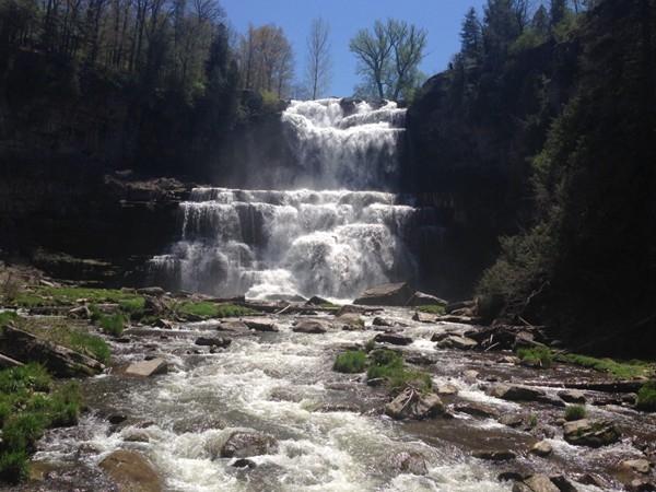 Chittenango Falls State Park located between Chittenango and Cazenovia