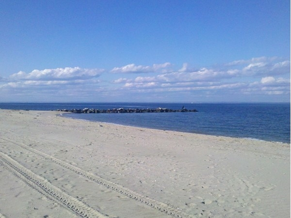 Miles of beach are available to your strolling pleasure at Sunken Meadow State Park