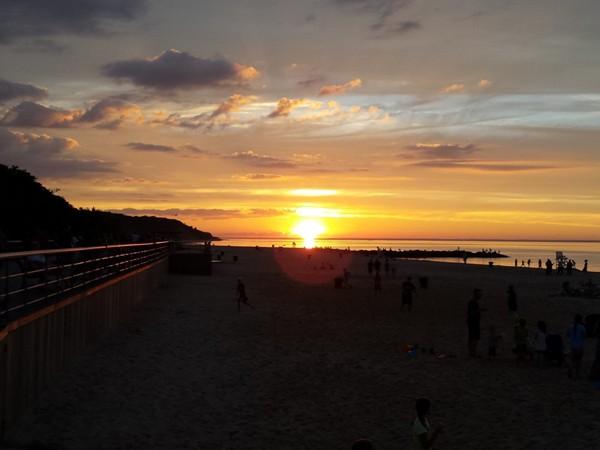 Sunset at the Sunken Meadow Boardwalk!