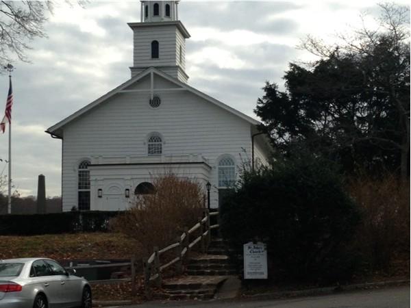 A picturesque church