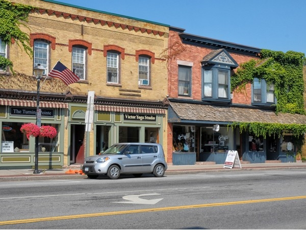 Quaint downtown Victor offers unique shopping opportunities
