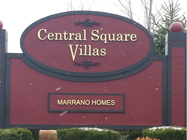 Central Square Villas in Lancaster, built by Marrano homes