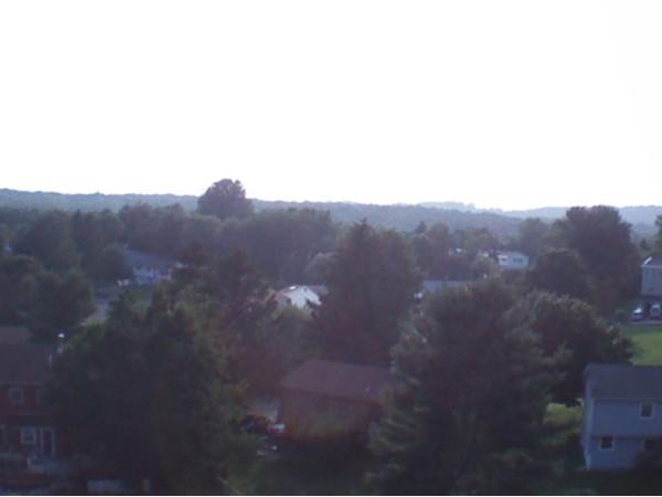 Looking down on Overlook Estates