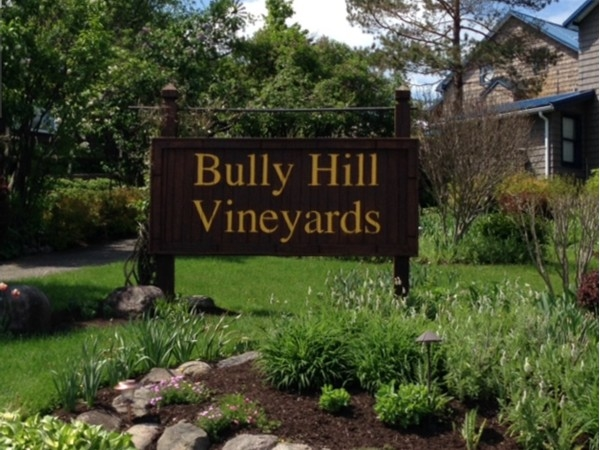 Bully Hill Vineyards. Some of the best wine and lunches are available here