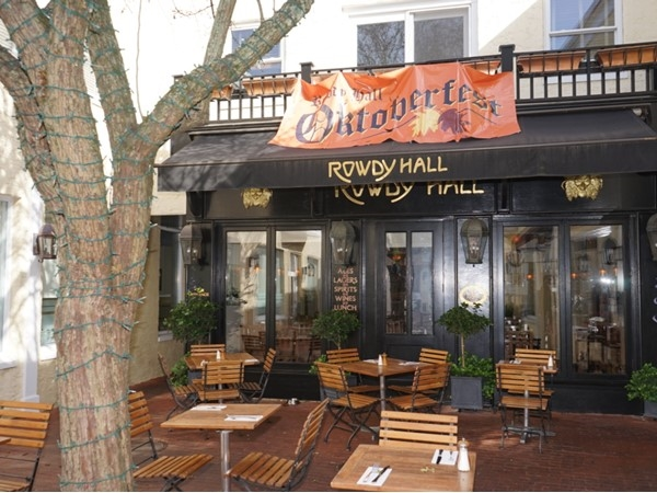 Rowdy Hall. Famous East Hampton restaurant and sports bar, is opened year round