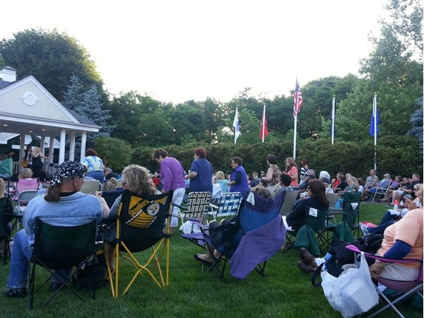 Bring your lawn chair and kick back at the Summer Concert on the Green