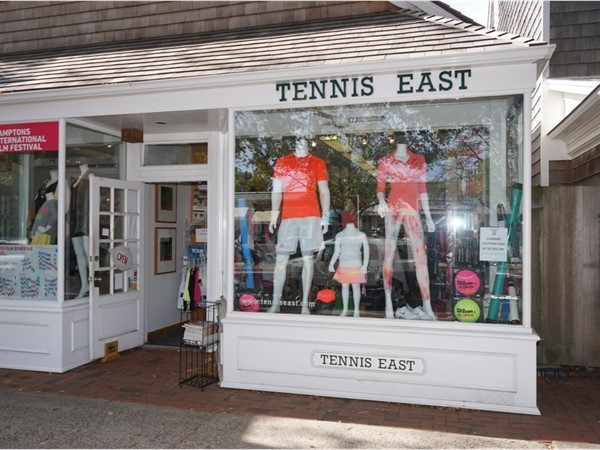 Anything you need to play tennis in the Hamptons
