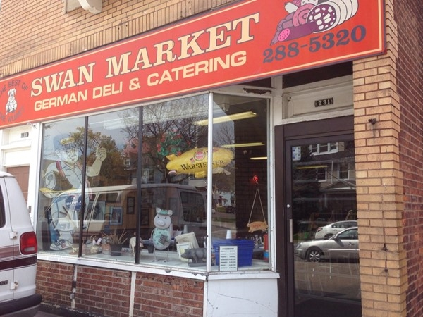 Swan Market on Parsells Ave. The best German shop in the city