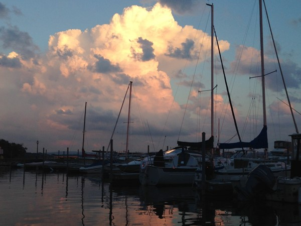 This is Syracuse? View beautiful sunsets on the lake and then head to White Water Pub