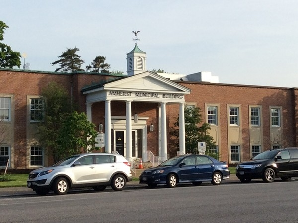 Amherst municipal building. Located on Main Street in Williamsville