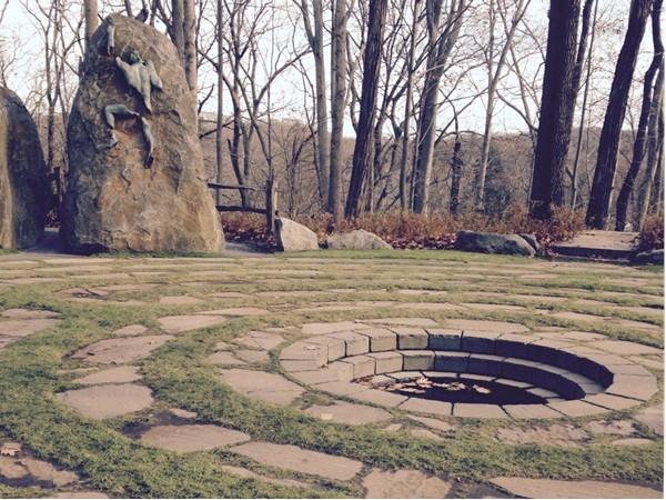 Labyrinth, Avalon Park and Preserve