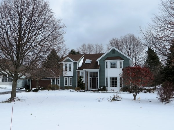 Beautiful colonial home in Sheffield Square Subdivision with inground pool