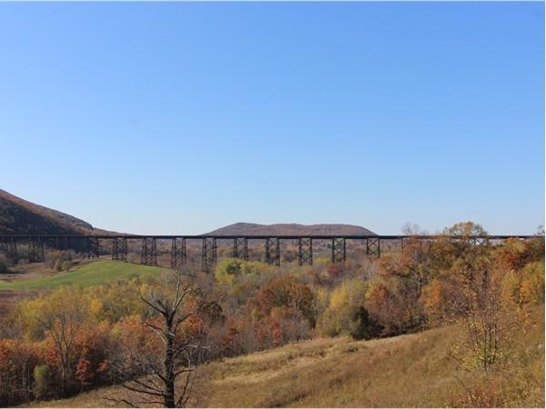 The Moodna Viaduct near Schunemunk Mountain