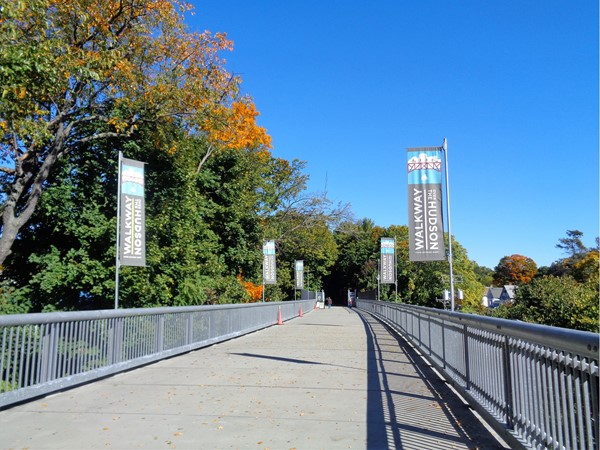 What a great time of the year to take a walk, run or bike ride over the beautiful Hudson River