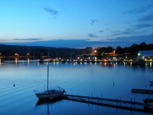 Penn Yan is located at the north end of the east branch of Keuka Lake, one of the Finger Lakes