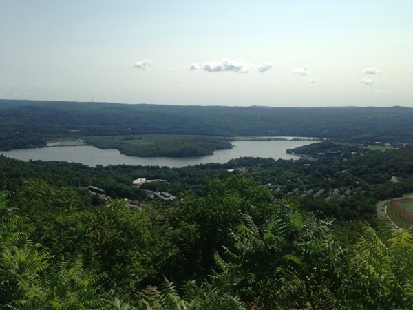 View of West Point from Storm King Mountain