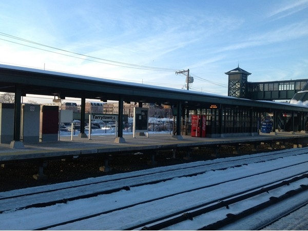 Tarrytown train transport center