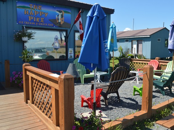 While you are in the area, don't forget to check out The Happy Pike Ice Cream and Snack Bar