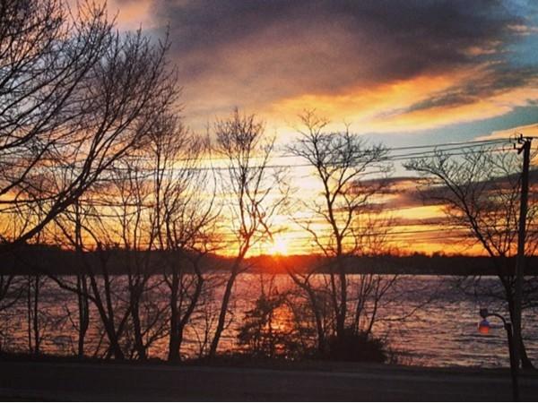 Sunset on Lake Ronkonkoma