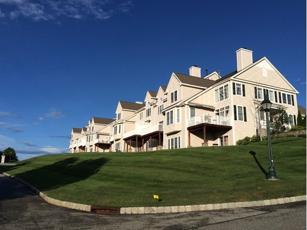 Mansion Ridge - right on the golf course