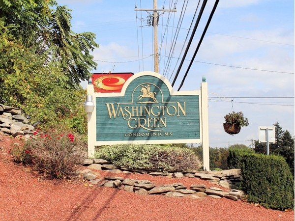 Entrance to Washington Green