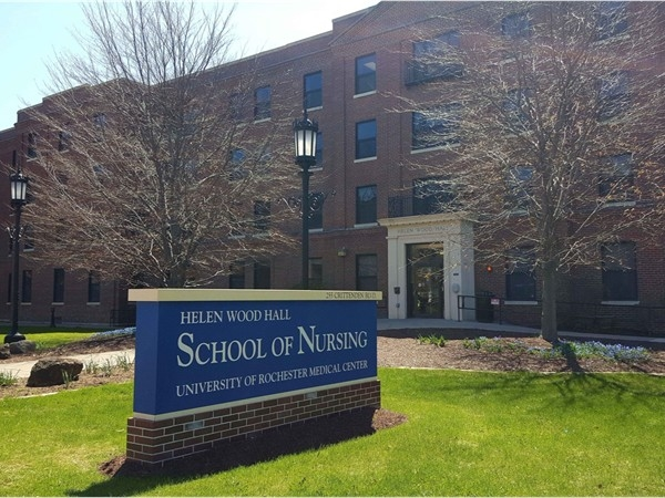 The School of Nursing in Helen Wood Hall, just across the street from the U of R Medical Center