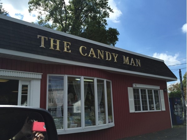 Don't miss stopping at the Candy Man when visiting Greenport.  Candy from all eras!