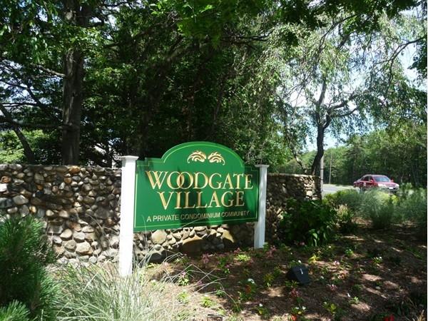 Woodgate Village entrance