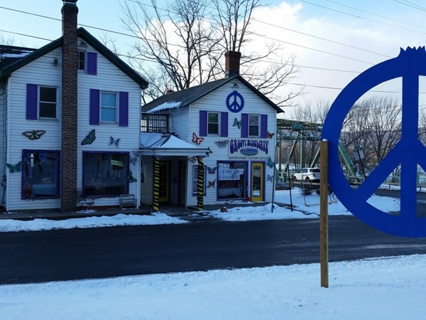 Groovy Blueberry Jewelry Shop right in the heart of New Paltz.  How cute, let's shop