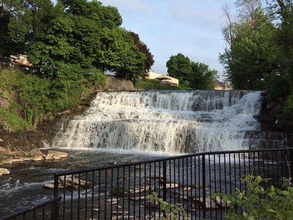 Glen Park is a great place to sit and relax or have a picnic lunch.