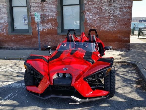 Nice kind of transportation for Greenport