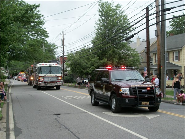 The Memorial Day Parade isn't complete without local EMS representation