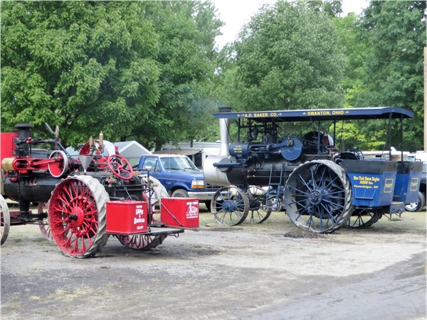 Steam Engine tractors at the Canandaigua Steam Engine Festival