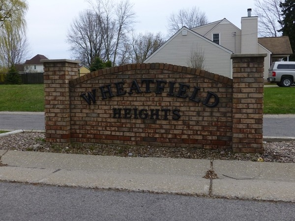 Entrance to Wheatfield Heights